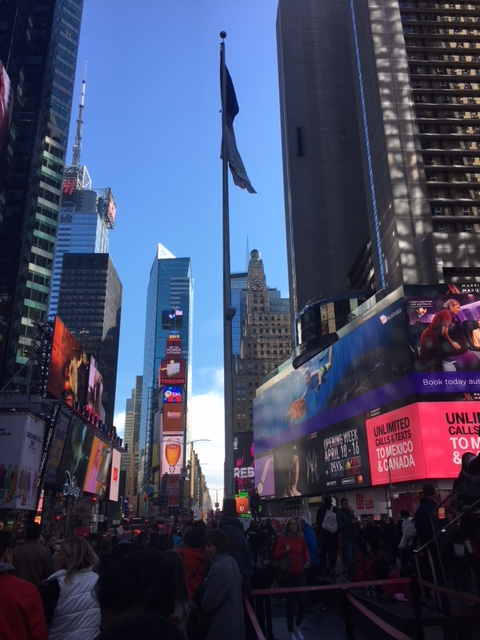 Screw you, Cancer – I Went to The Big Apple – April2017