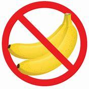 no banana