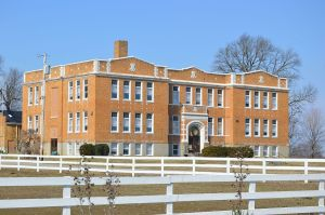 Ross_Township_School_from_south